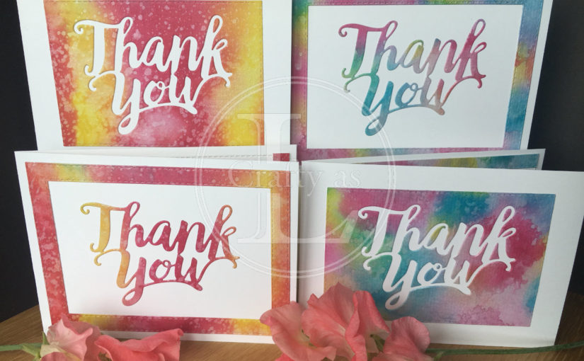 2-for-1 Thank You Cards