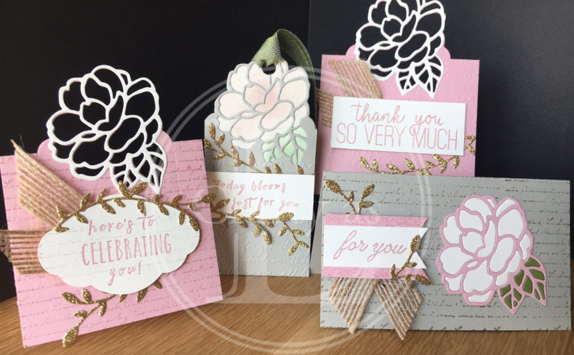 Botanical Bliss Tags